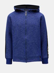 Modrá chlapčenská melírovaná mikina Blue Seven