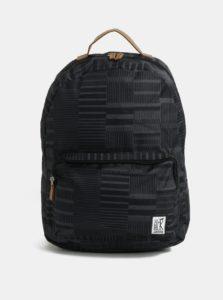 Čierny vzorovaný batoh The Pack Society 18 l