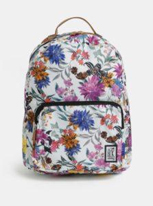 Biely dámsky vzorovaný batoh The Pack Society 18 l