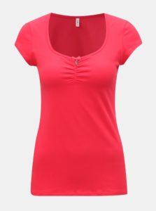 3b9d18f5a Červené tričko s krátkym rukávom Blutsgeschwister