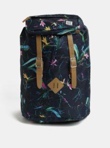 Modrý dámsky vzorovaný batoh The Pack Society 23 l