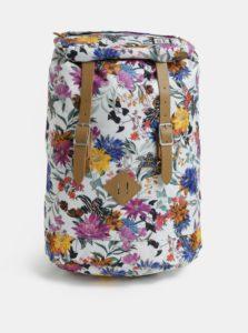 Biely dámsky vzorovaný batoh The Pack Society 23 l
