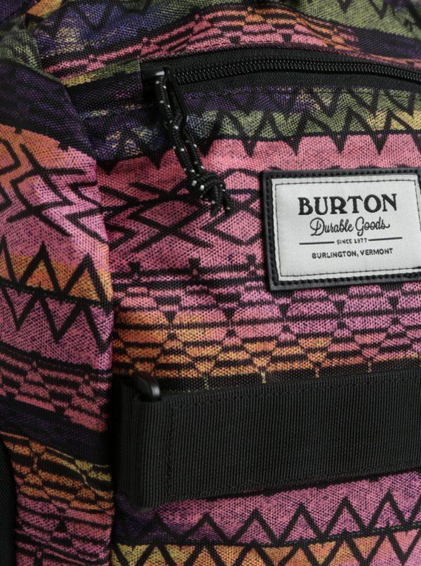 Ružovo-čierny dievčenský batoh Burton Metalhead 18 l