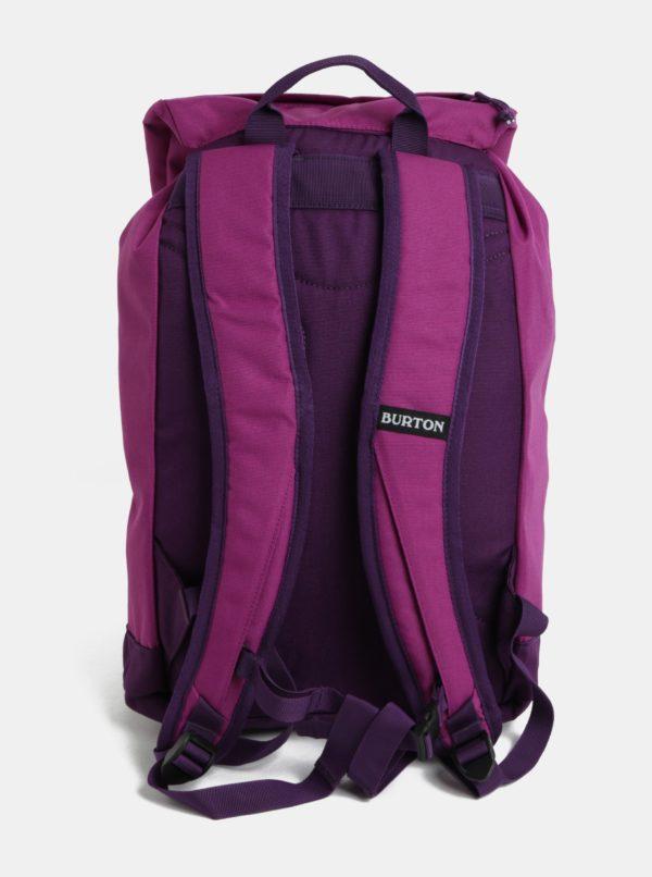 Fialový dievčenský batoh s chlopňou Burton Youth Tinder 16 l