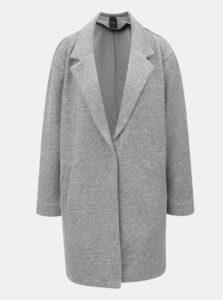 Sivý dámsky vzorovaný kabát Broadway Hiro