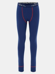 Modré chlapčenské nohavice Name it