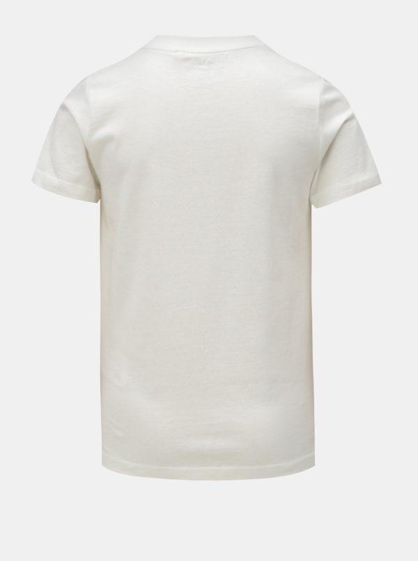 Biele chlapčenské tričko s krátkym rukávom LIMITED by name it Victoreno