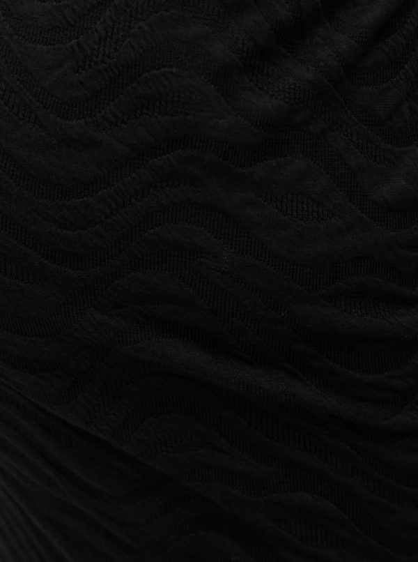 Čierna tehotenská sukňa Mama.licious