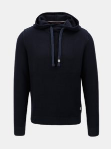 Tmavomodrý sveter s kapucňou Jack & Jones Duberry