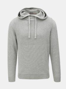 Sivý sveter s kapucňou Jack & Jones Duberry