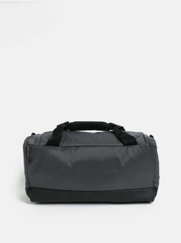 Čierno-sivá športová taška Nike Midnight 37 l