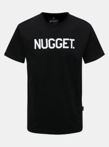 Čierne pánske tričko NUGGET
