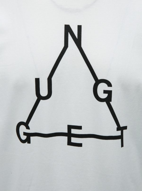 Biele pánske tričko NUGGET