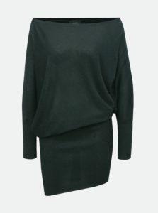 3064cb428 Zelené trblietavé asymetrické šaty ONLY Janni