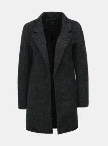 Sivý melírovaný kabát ONLY Baker