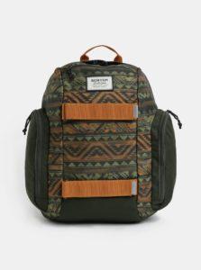 Oranžovo-zelený chlapčenský batoh Burton Metalhead 18 l