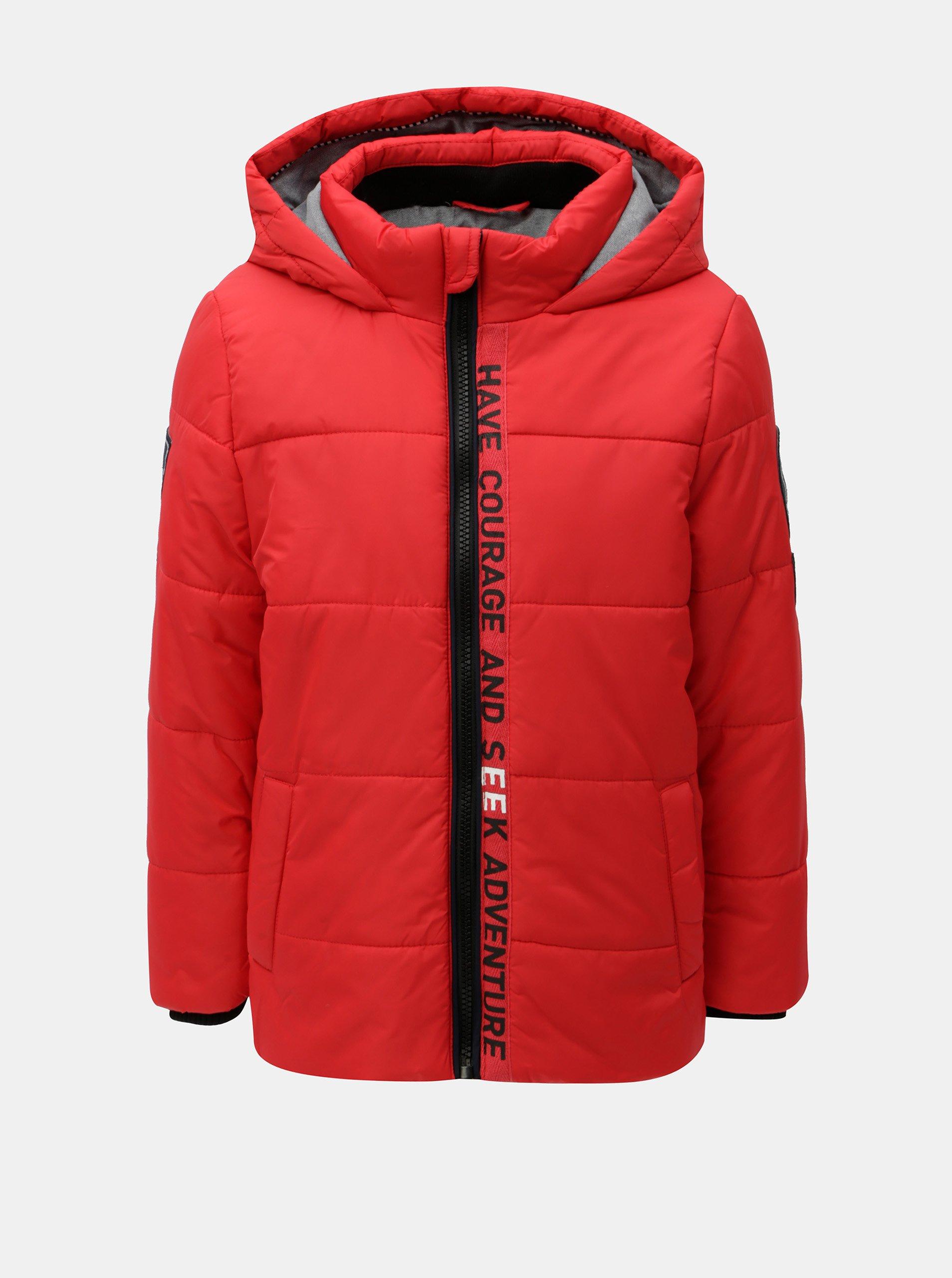 bc559d9fe Červená chlapčenská zimná prešívaná bunda Name it Maxim | Moda.sk