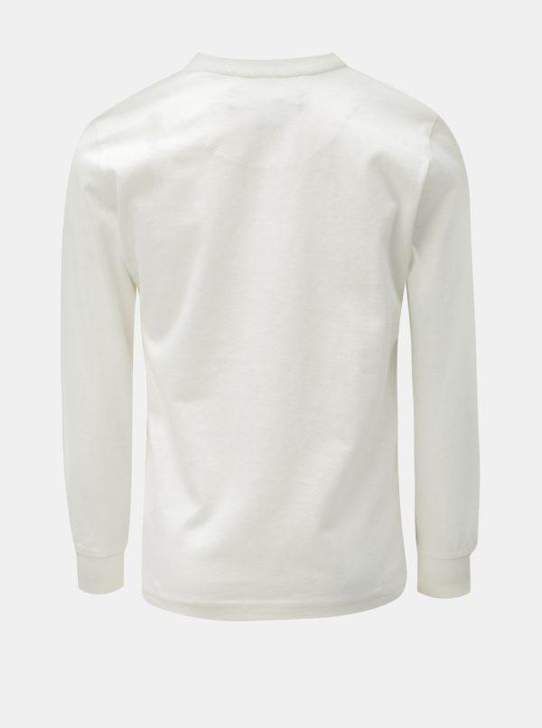 Biele chlapčenské tričko s potlačou North Pole Kisa
