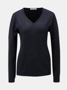 Modrý melírovaný sveter VILA Viril