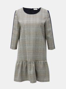 Modro-krémové vzorované šaty Rich & Royal