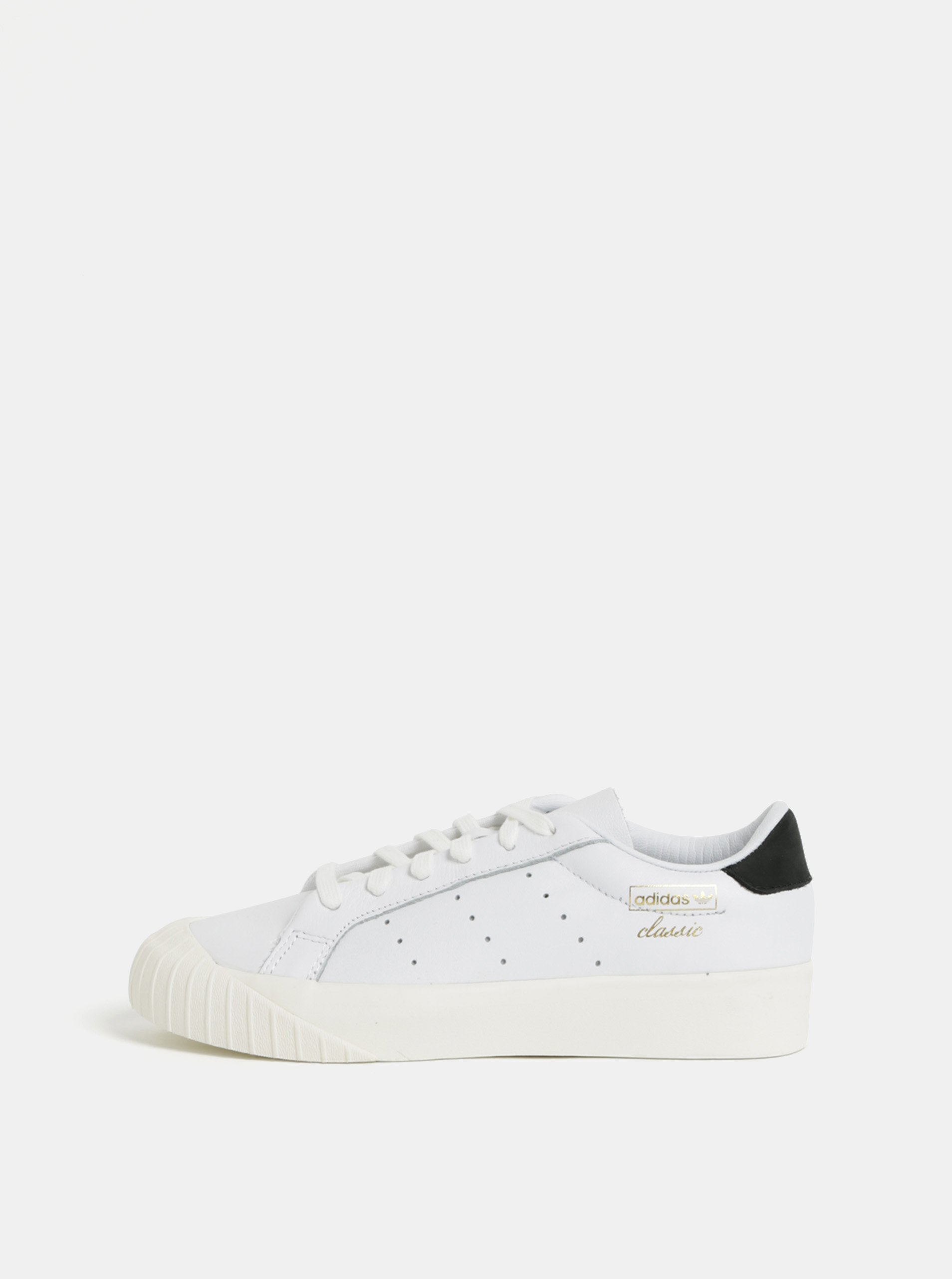 bf7e76c594de4 Biele dámske kožené tenisky adidas Originals Everyn | Moda.sk
