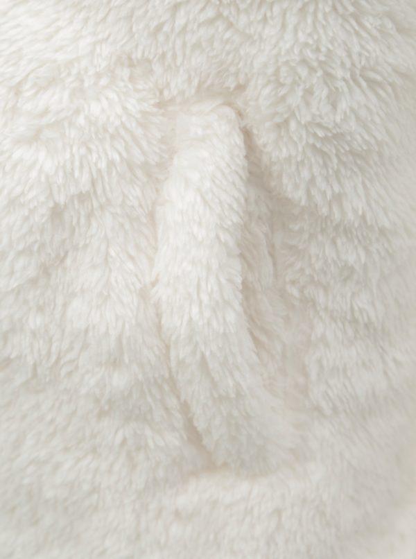 Krémová dievčenská mikina s kapucňou Roxy