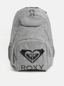Sivý melírovaný batoh Roxy Feel happy