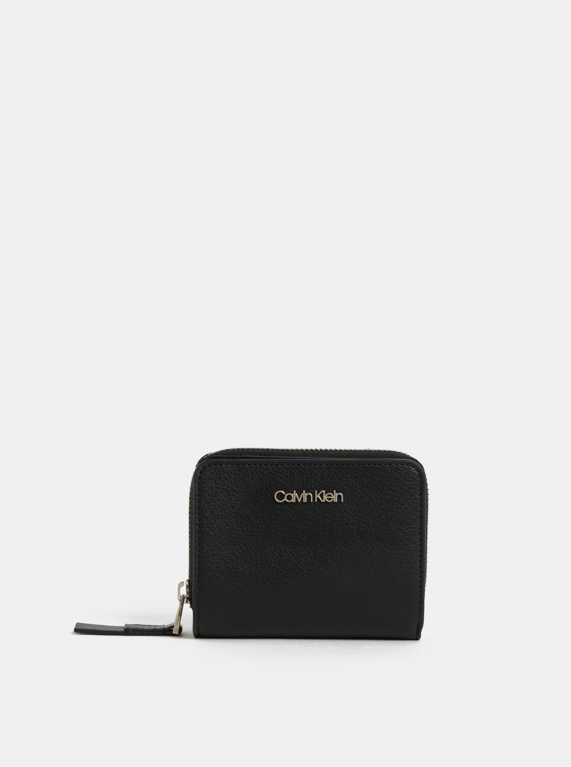 08ba7c402f Čierna dámska koženková peňaženka Calvin Klein Jeans