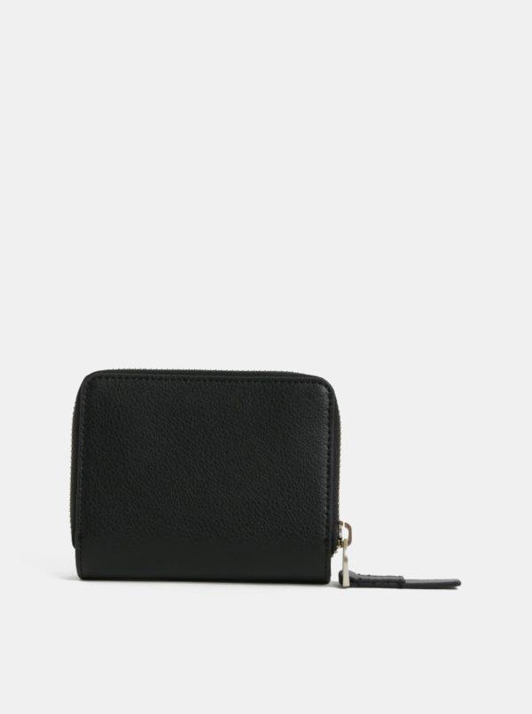 Čierna dámska koženková peňaženka Calvin Klein Jeans