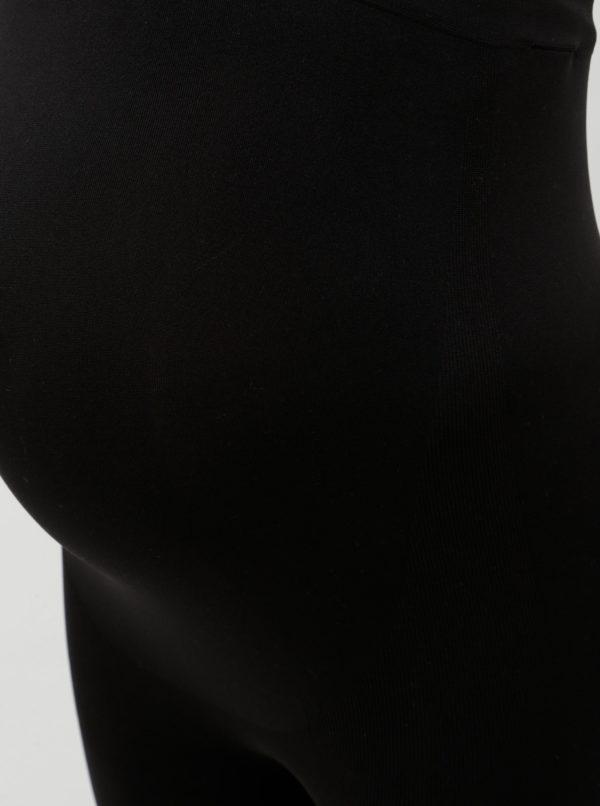 Čierne tehotenské legíny Mama.licious Jeanne