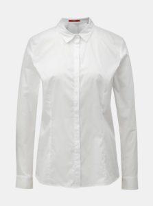Biela dámska košeľa s dlhým rukávom s.Oliver