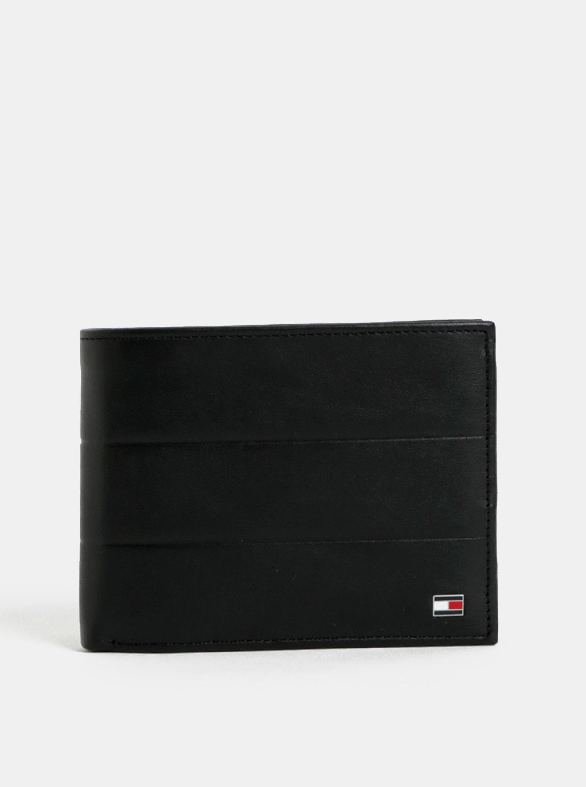 34dd8d9df4 Čierna pánska kožená peňaženka Tommy Hilfiger