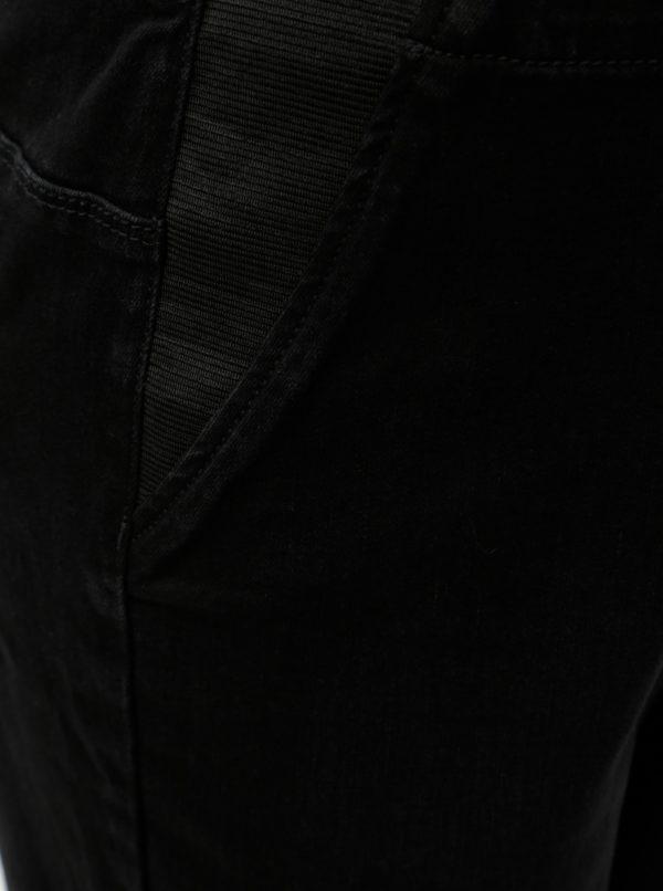 Čierne tehotenské jeggings s vysokým pásom Mama.licious Lola