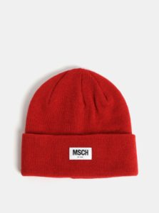 Červená vlnená čiapka Moss Copenhagen Mojo
