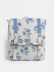 Modro-krémový dievčenský kvetovaný batoh Cath Kidston