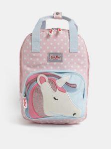 Modro-ružový dievčenský batoh s motívom jednorožca Cath Kidston