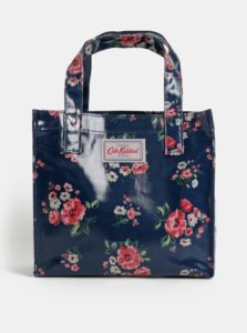 Tmavomodrá dievčenská kvetovaná kabelka Cath Kidston