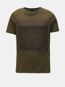 Kaki tričko s potlačou LIMITED by name it