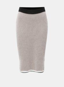 49ac928bb126 Čierno–ružová puzdrová pletená vzorovaná sukňa Dorothy Perkins