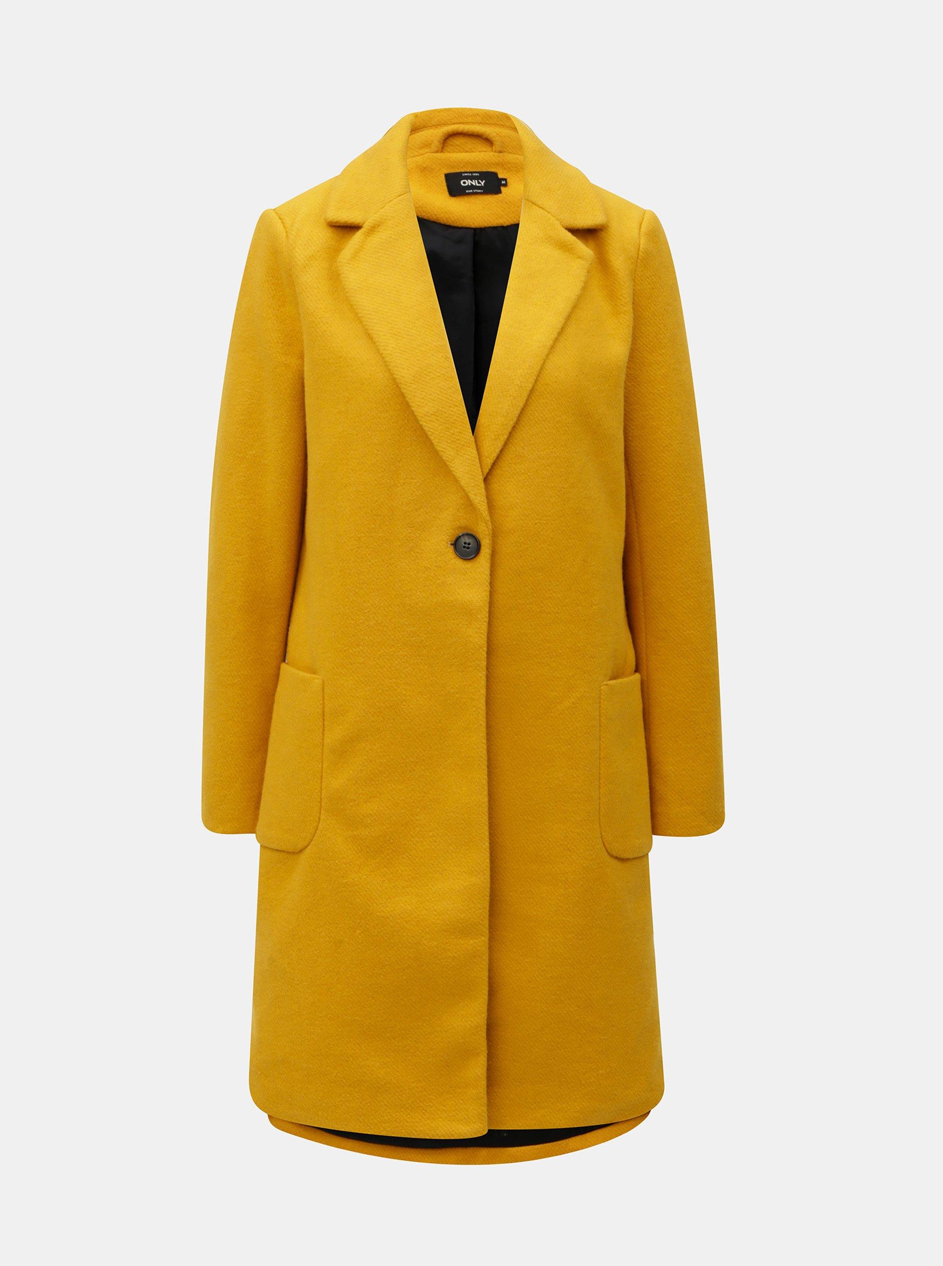 Žltý kabát ONLY  5d8a416bb05