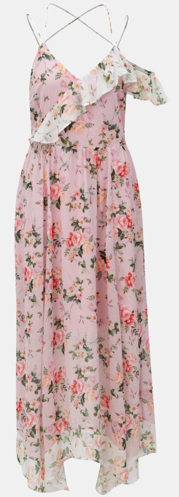 Ukážka romantických kvetovaných šiat