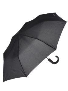 Čierny vystreľovací dáždnik Dice
