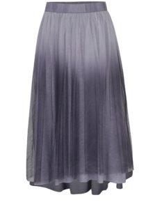 Sivá tylová sukňa DEHA