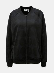 Čierna mikina s futbalovým vzorom adidas Originals
