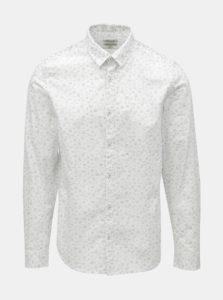 Biela pánska vzorovaná košeľa Garcia Jeans