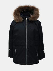 Tmavomodrá chlapčenská funkčná zimná bunda Name it Snow
