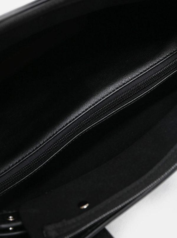 Čierna kabelka s crossbody kabelkou 2v1 Meatfly