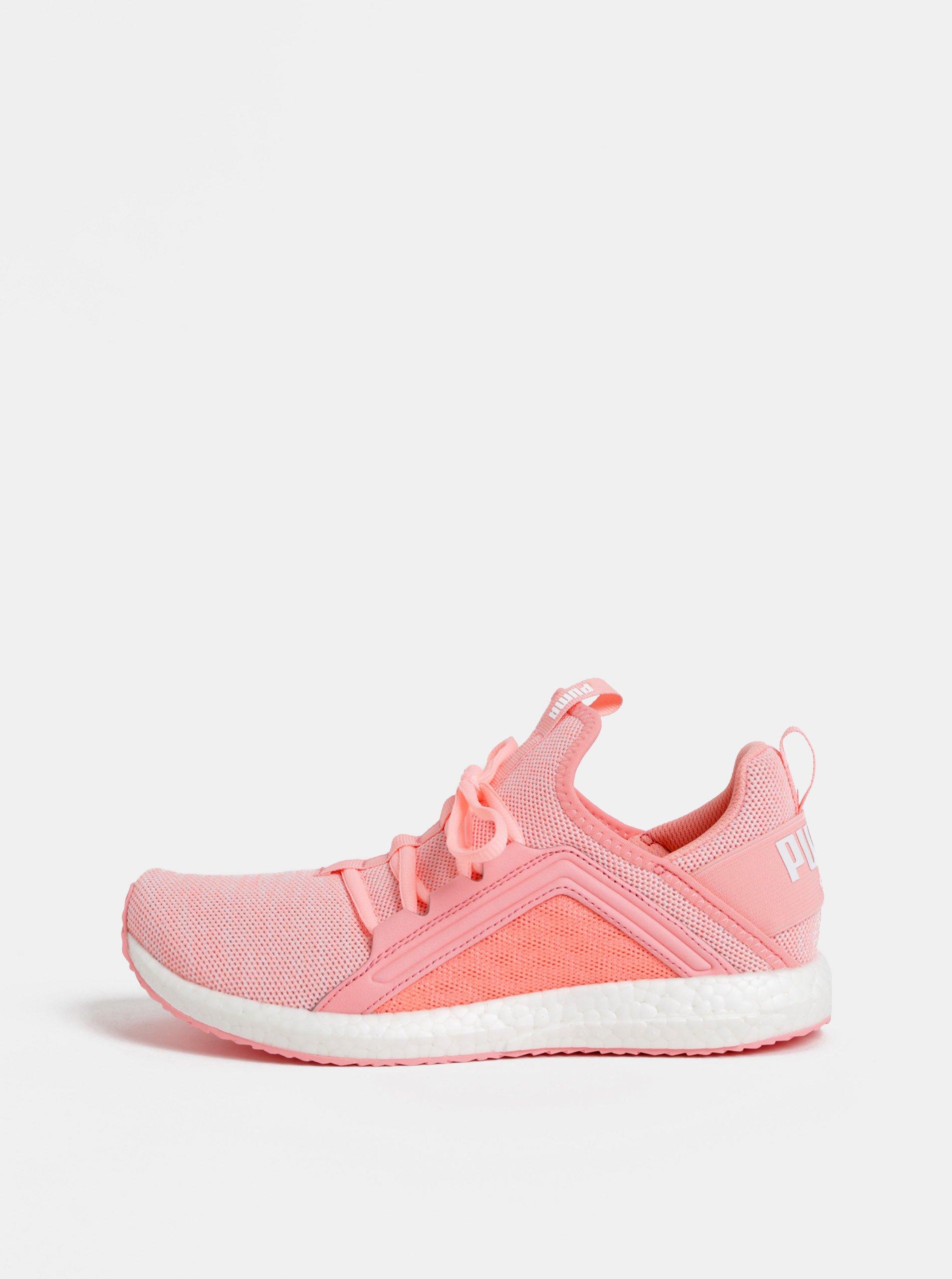 f91a9a6e2719 Ružové dámske neónové tenisky Puma Mega NRGY