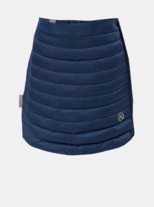 Tmavomodrá prešívaná funkčná sukňa na zips Reima Floora