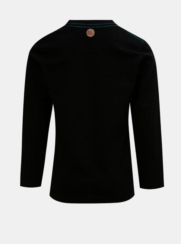 Čierne chlapčenské tričko s potlačou BÓBOLI